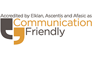 ELKLAN Communication Friendly Logo